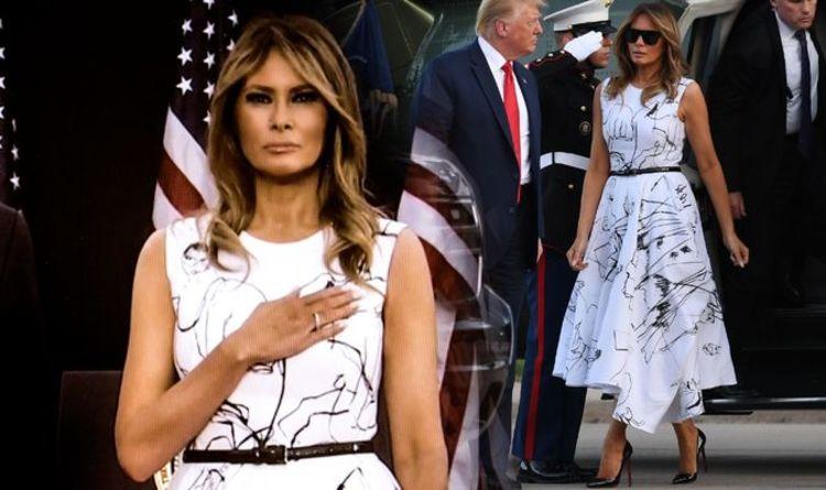 Melania Trump Dress Cruelly Mocked Over 1900 Alexander Mcqueen Gown All Best 24