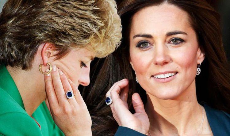 Pierścionek zaręczynowy Księżnej Diany i Księżnej Kate